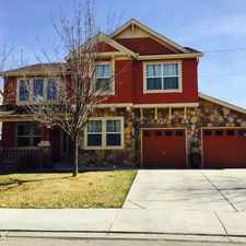 Rental info for 4 bedroom home for rent located in a quite neighborhood near the Fox Hills Golf Course in Longmont in Fox Meadows.