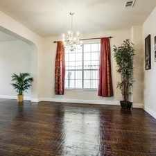 Rental info for Beautiful Plano House For Rent in the Plano area