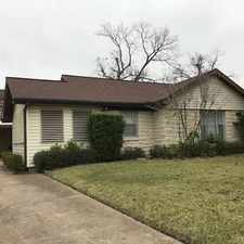 Rental info for Charming Brick Home In The Heart Of Lindale Par... in the Houston area