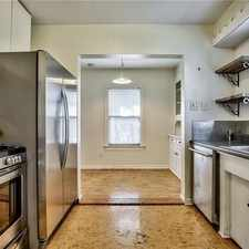 Rental info for Don't Miss This Charming Up-down Duplex In High... in the Dallas area