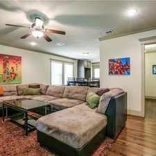 Rental info for Fully Furnished House Ready For Immediate Occup... in the Dallas area