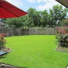 Rental info for Attractive 5 Bed, 4 Bath. Parking Available! in the Sugar Land area