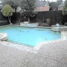 Rental info for Lovely Plano, 4 Bed, 2.50 Bath in the Plano area