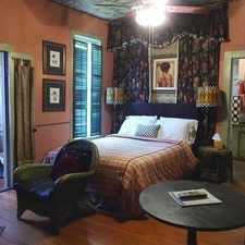 Rental info for Charming Victorian Style B & B Studio. in the Houston area