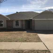 Rental info for 3405 Country Creek Lane in the Fort Worth area