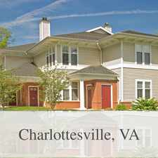 Rental info for Three Bedroom/ Three Bath Terrace in the Charlottesville area