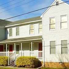 Rental info for Nice Family Townhouse For Rent. Offstreet Parking! in the Chesapeake area