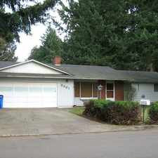 Rental info for 3 Bedroom Single Level Home In Heritage High Bo... in the Vancouver area