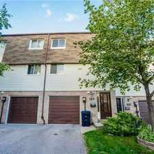 Rental info for 185 Jenny Wrenway in the Markham area