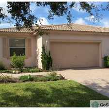 Rental info for BEAUTIFUL THREE BEDROOM 2 BATHROOM WITH 2 CAR GARAGE. in the West Palm Beach area