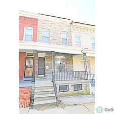 Rental info for BEAUTIFULLY RENOVATED! NEW APPLIANCES! AFFORDABLE LIVING! SECTION 8 WELCOMED! in the Baltimore area