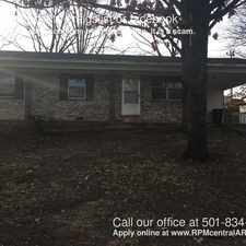Rental info for 406 Malibu Dr. in the Little Rock area