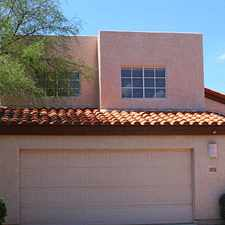 Rental info for Private Home End Of The And Backing To HOA Area. in the Catalina Foothills area