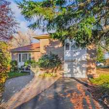 Rental info for 98 Highland Park Boulevard in the Markham area