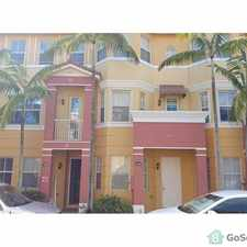 Rental info for BEAUTIFUL TOWN HOME WITH THREE BEDROOMS THREE AND A HALF BATHROOM. in the West Palm Beach area