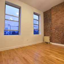 Rental info for STUNNING LIGHT AMPLE SPACES in the Bowery area
