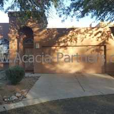 Rental info for Great Property in Mesquite Creek II with Mountain Views in the Catalina Foothills area