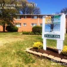 Rental info for 7205 1T Gravois Ave. in the St. Louis area