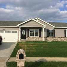 Rental info for 474 Honeysuckle Creek Drive in the Wentzville area