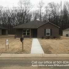 Rental info for 6508 Ridgemist Ln. in the Little Rock area