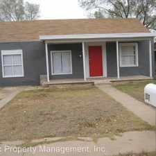 Rental info for 307 Waco Ave. in the Lubbock area