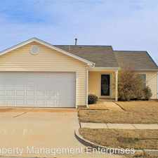 Rental info for 9404 Checkerbloom Dr in the Oklahoma City area