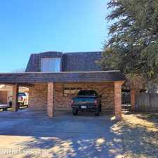 Rental info for 4415 75th Drive - A in the Lubbock area