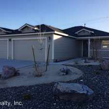 Rental info for 1897 Canal Drive in the Fernley area