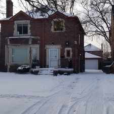 Rental info for 18483 Greenlawn in the Detroit area
