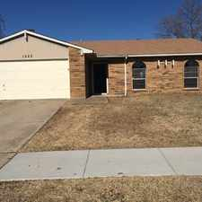 Rental info for 1522 Independence Trail in the Grand Prairie area