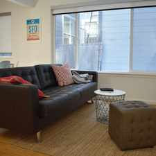 Rental info for 68 Diamond Street #2 in the Eureka Valley area