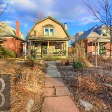 Rental info for 356 South Logan Street in the Denver area