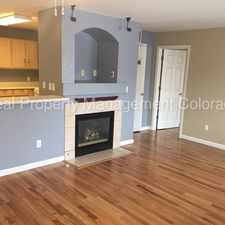 Rental info for 1308 South Danube Way #102 in the Buckley AFB area