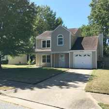 Rental info for Single Family Home With Fenced Back Yard in the Newport News area