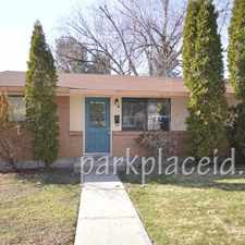 Rental info for 1811 N 17th in the Boise City area