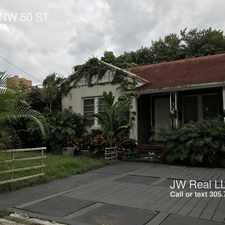 Rental info for 1058 NW 50 ST in the Miami area