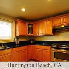 Rental info for Great Neighborhood In Just Few Miles To Enjoy A... in the Huntington Beach area