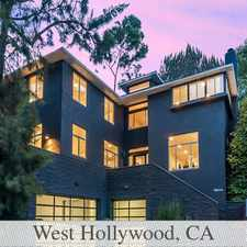 Rental info for Located On Prestigious Sunset Plaza. in the West Hollywood area