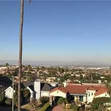 Rental info for ONE OF THE MOST SPECTACULAR VIEWS YOU WILL FIND... in the Los Angeles area