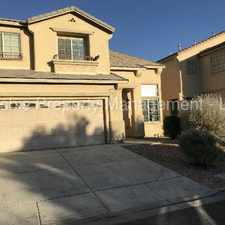 Rental info for TWO STORY HOME WITH SPACIOUS BACKYARD in the Henderson area