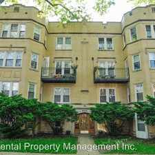 Rental info for 6325 N. Rockwell Street Unit 3S in the West Ridge area