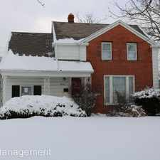 Rental info for 19101 Wickfield Avenue in the Cleveland area
