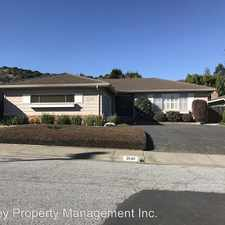 Rental info for 2640 Debbie Place in the 94070 area