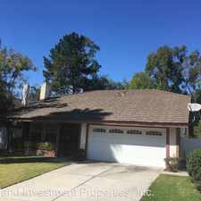 Rental info for 25531 Fallenwood in the Irvine area