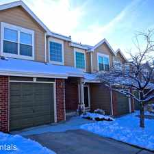 Rental info for 2014 E. 103rd Avenue in the Denver area