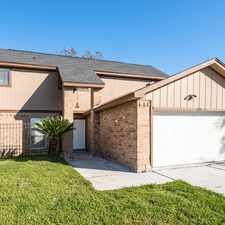 Rental info for 16311 Bird Dog Court in the Houston area