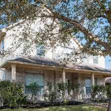 Rental info for 16642 Village View Trail in the Houston area