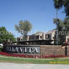 Rental info for WOW! Stunning 2/2 Condo Prime Scottsdale Location! in the Scottsdale area