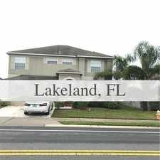 Rental info for House For Rent In LAKELAND. Washer/Dryer Hookups! in the Lakeland area