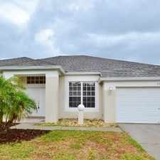 Rental info for This Is One Of Those Special Homes Where Memori... in the Wesley Chapel area